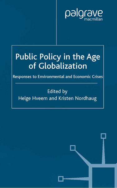 Public Policy in the Age of Globalization - Coverbild