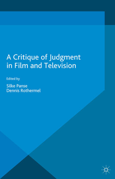 A Critique of Judgment in Film and Television - Coverbild