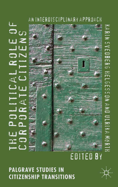 The Political Role of Corporate Citizens - Coverbild