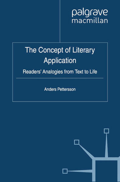 The Concept of Literary Application - Coverbild