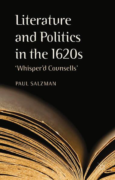 Literature and Politics in the 1620s - Coverbild