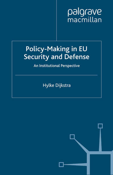 Policy-Making in EU Security and Defense - Coverbild
