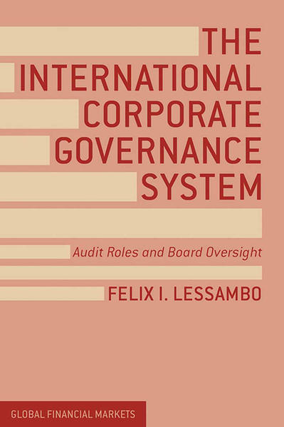 The International Corporate Governance System - Coverbild