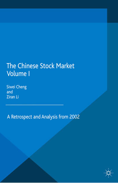 The Chinese Stock Market Volume I - Coverbild