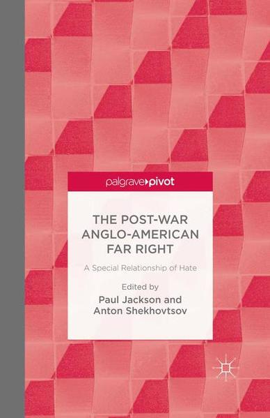 The Post-War Anglo-American Far Right - Coverbild