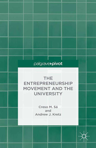 The Entrepreneurship Movement and the University - Coverbild