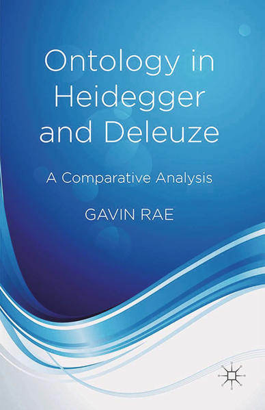 Ontology in Heidegger and Deleuze - Coverbild