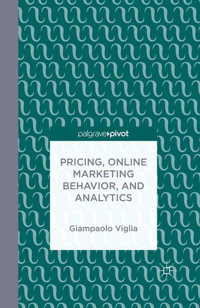 Pricing, Online Marketing Behavior, and Analytics - Coverbild