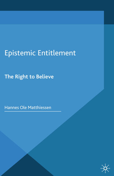 Epistemic Entitlement - Coverbild