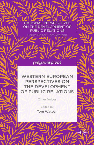 Western European Perspectives on the Development of Public Relations - Coverbild
