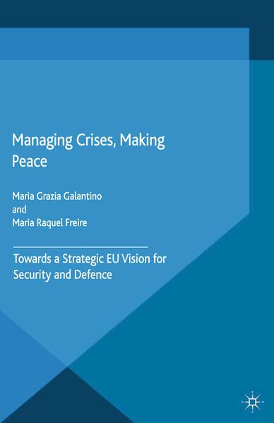Managing Crises, Making Peace - Coverbild