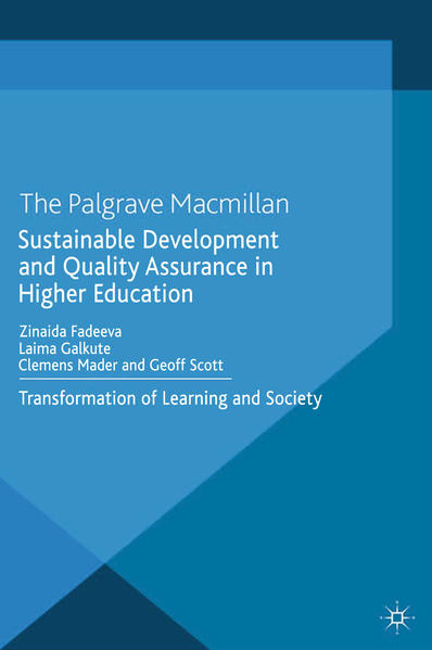 Sustainable Development and Quality Assurance in Higher Education - Coverbild