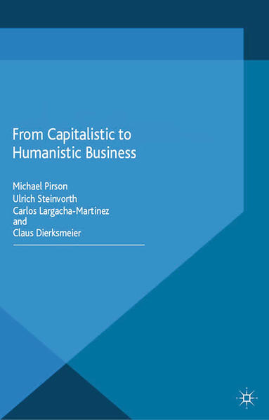 From Capitalistic to Humanistic Business - Coverbild