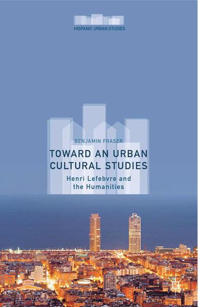 Toward an Urban Cultural Studies - Coverbild