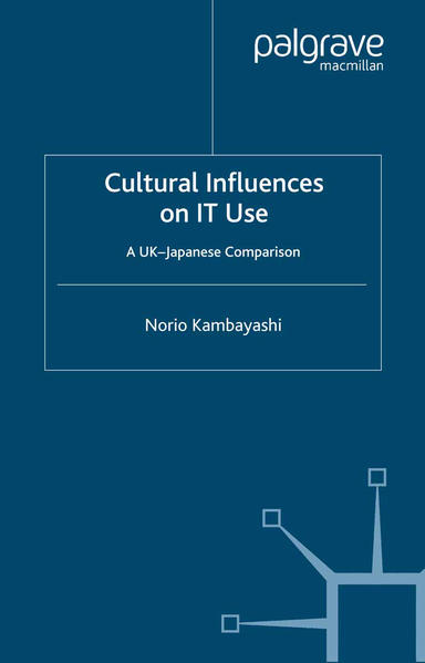 Cultural Influences on IT Use - Coverbild