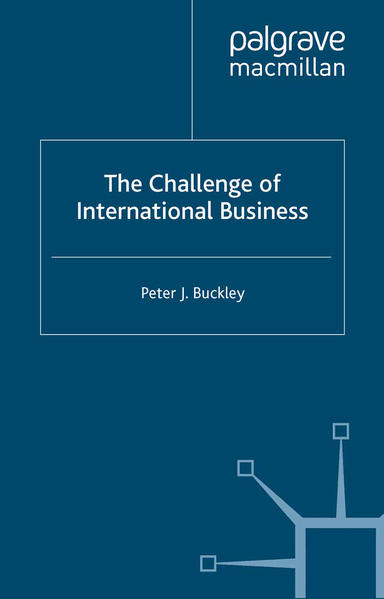 The Challenge of International Business - Coverbild