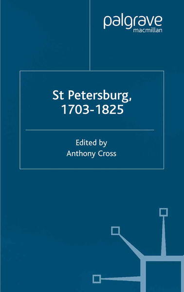 St Petersburg, 1703-1825 - Coverbild