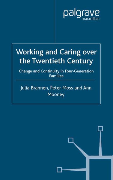 Working and Caring over the Twentieth Century - Coverbild