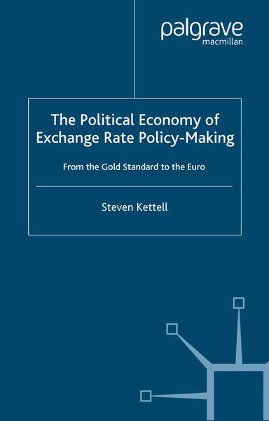 The Political Economy of Exchange Rate Policy-Making - Coverbild
