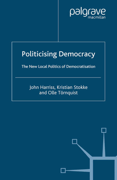 Politicising Democracy - Coverbild