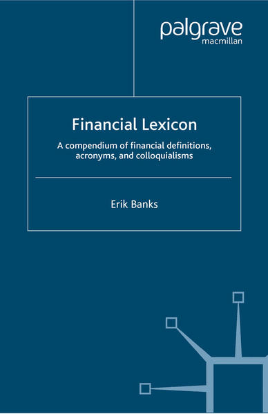 Financial Lexicon - Coverbild