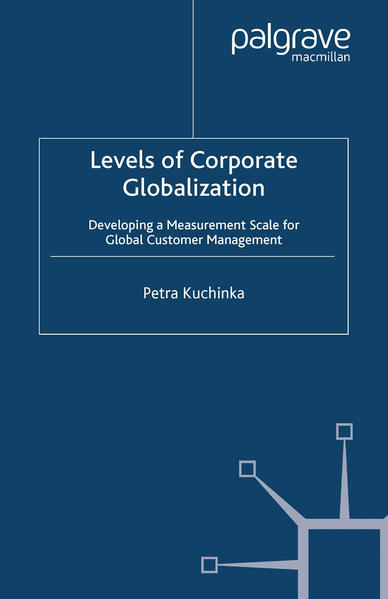 Levels of Corporate Globalization - Coverbild