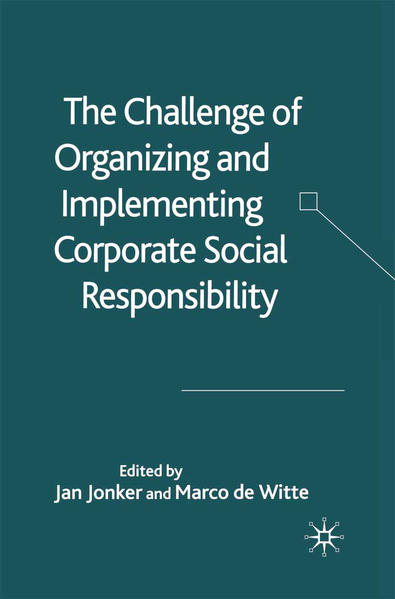 The Challenge of Organising and Implementing Corporate Social Responsibility - Coverbild