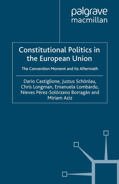 Constitutional Politics in the European Union - Coverbild