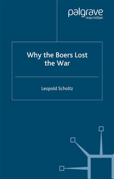 Why the Boers Lost the War - Coverbild