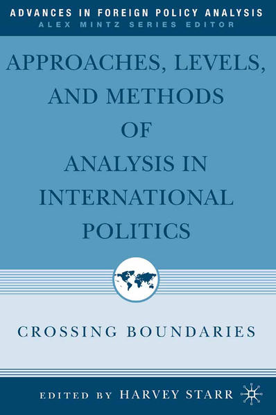 Approaches, Levels, and Methods of Analysis in International Politics - Coverbild