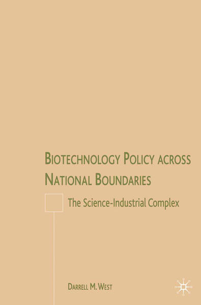 Biotechnology Policy across National Boundaries - Coverbild