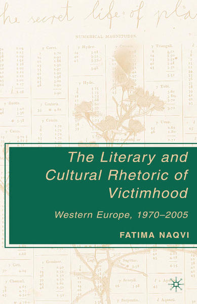 The Literary and Cultural Rhetoric of Victimhood - Coverbild