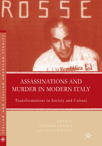 Assassinations and Murder in Modern Italy - Coverbild