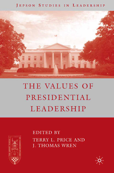 The Values of Presidential Leadership - Coverbild