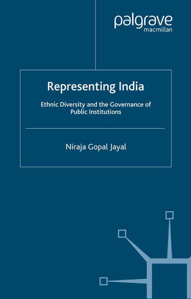 Representing India - Coverbild