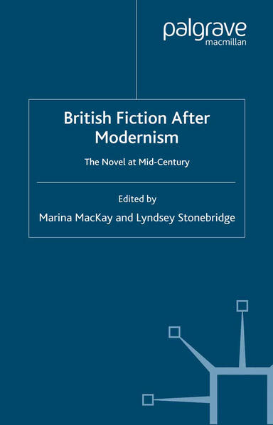 British Fiction After Modernism - Coverbild