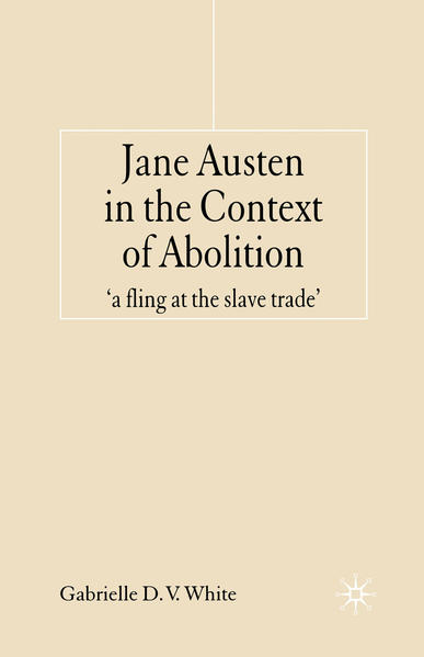 Jane Austen in the Context of Abolition - Coverbild