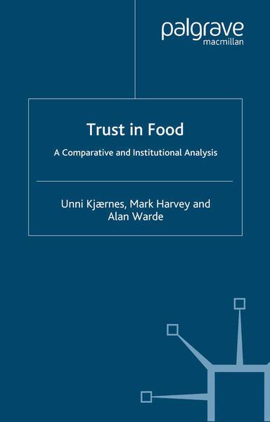 Trust in Food - Coverbild
