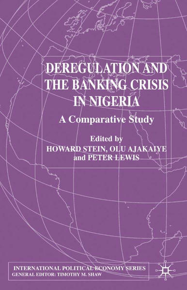 Deregulation and the Banking Crisis in Nigeria - Coverbild