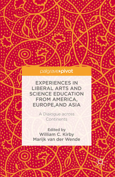 Experiences in Liberal Arts and Science Education from America, Europe, and Asia - Coverbild
