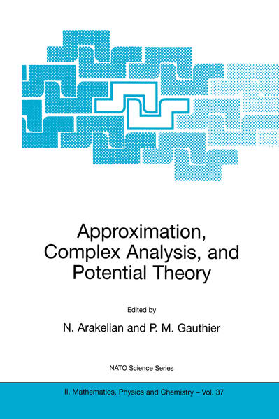 Approximation, Complex Analysis, and Potential Theory - Coverbild