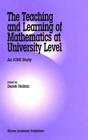 The Teaching and Learning of Mathematics at University Level - Coverbild