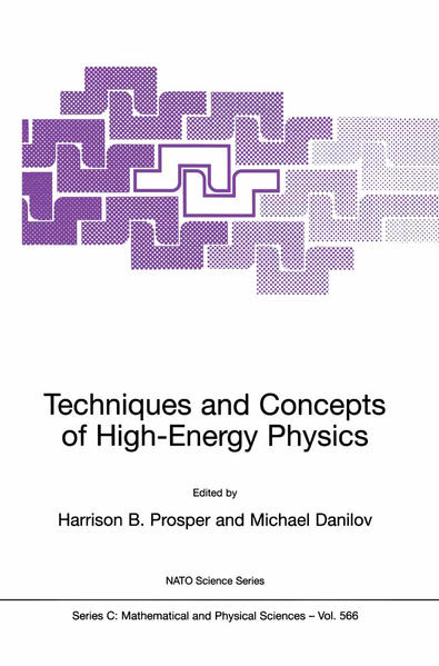 Techniques and Concepts of High-Energy Physics - Coverbild