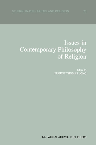 Issues in Contemporary Philosophy of Religion - Coverbild