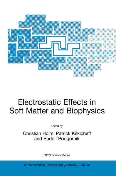 Electrostatic Effects in Soft Matter and Biophysics - Coverbild