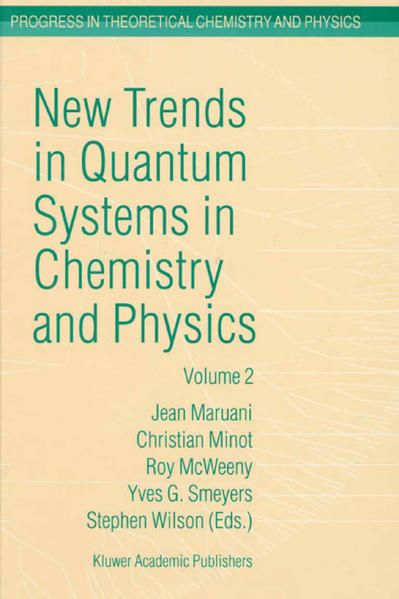 New Trends in Quantum Systems in Chemistry and Physics - Coverbild