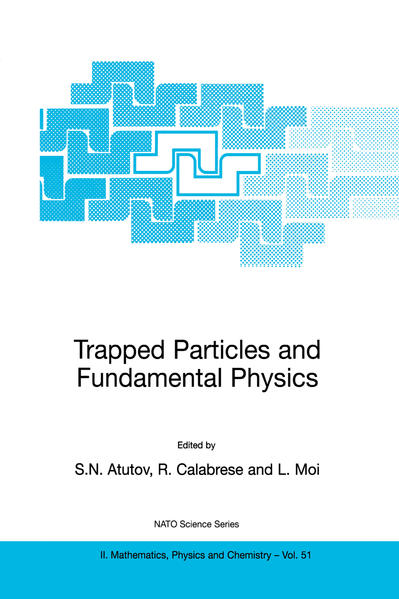 Trapped Particles and Fundamental Physics - Coverbild
