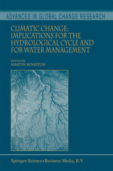 Climatic Change: Implications for the Hydrological Cycle and for Water Management - Coverbild