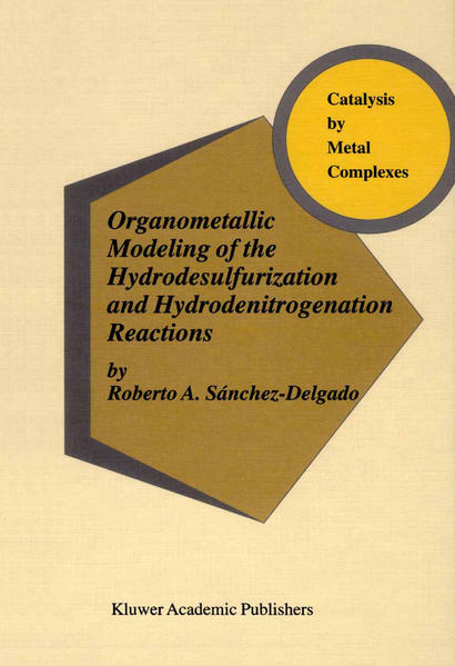 Organometallic Modeling of the Hydrodesulfurization and Hydrodenitrogenation Reactions - Coverbild