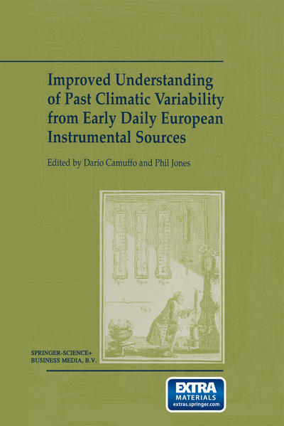 Improved Understanding of Past Climatic Variability from Early Daily European Instrumental Sources - Coverbild